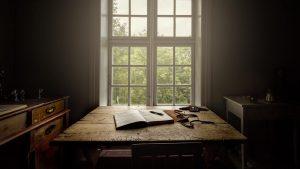 Skrivergaarden oppholdsrom