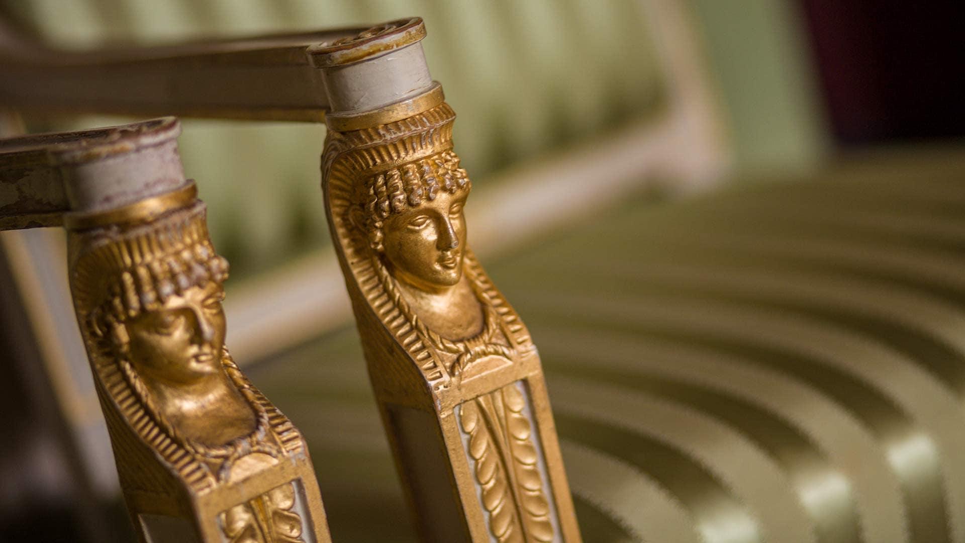 Skrivergaarden historiske møbler